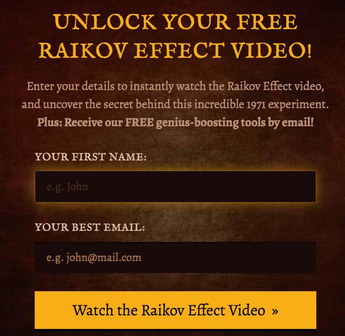 order raikov reffect