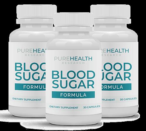 pure health blood sugar formula reviews