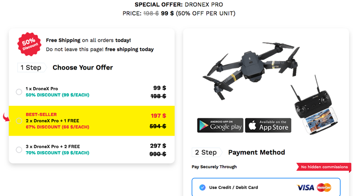 order dronex pro