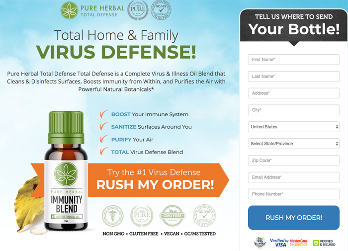 Pure Herbal Immunity Blend Review