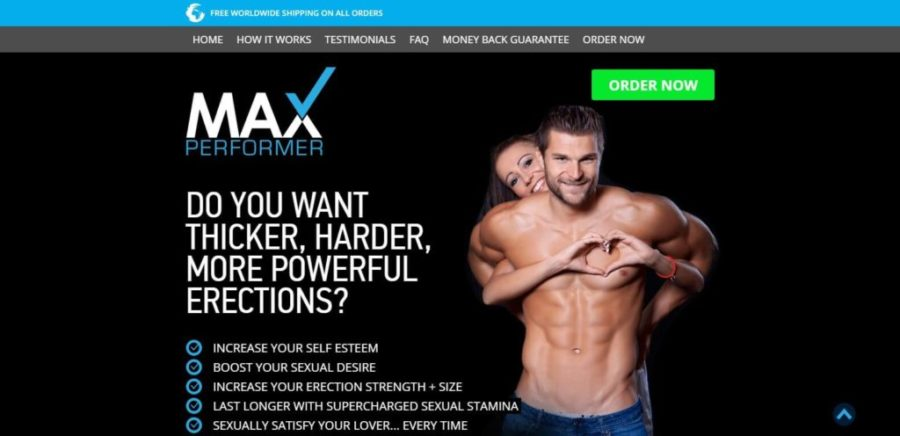 max performer official website