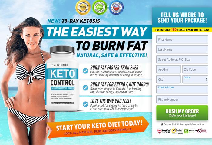 Vital Nutrition Keto Control Diet Pills Review