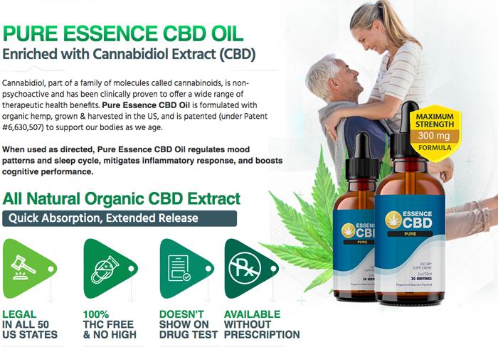 Essence CBD Pure Oil Review