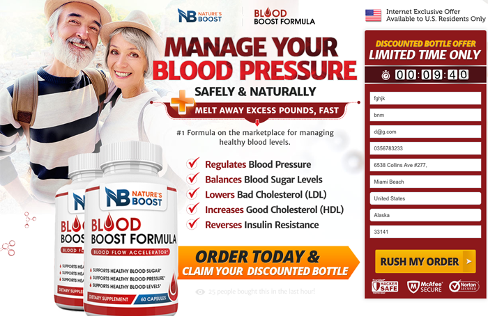 Natures Boost Blood Formula Review