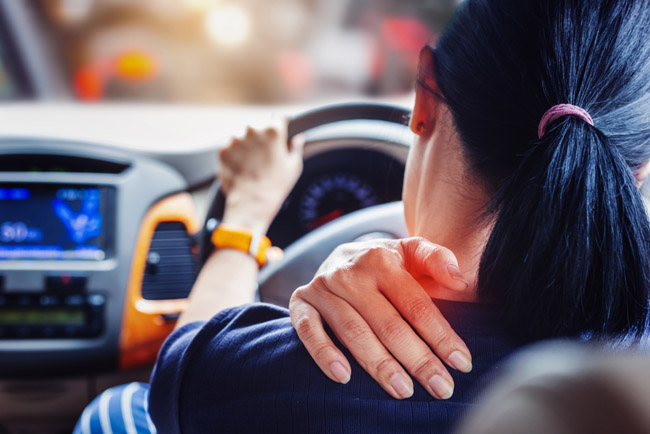 Avoid Neck Pain While Driving