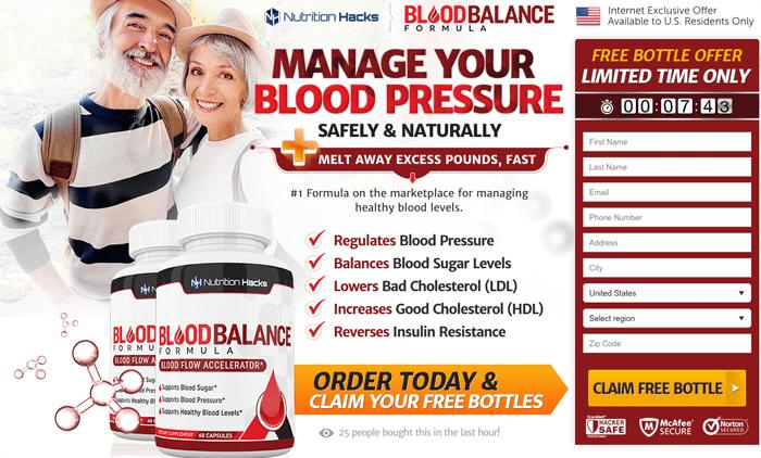 order blood balance formula
