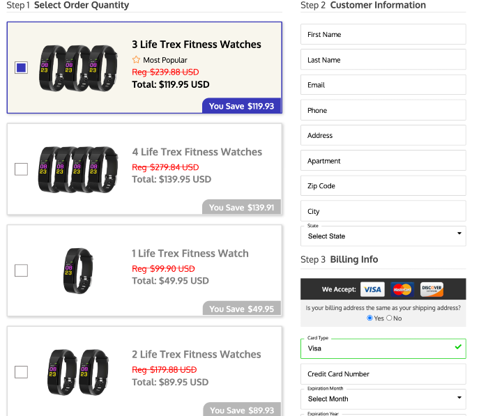 life trex smartwatch price