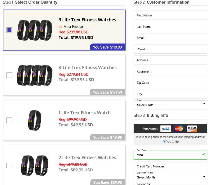 life trex smartwatch price