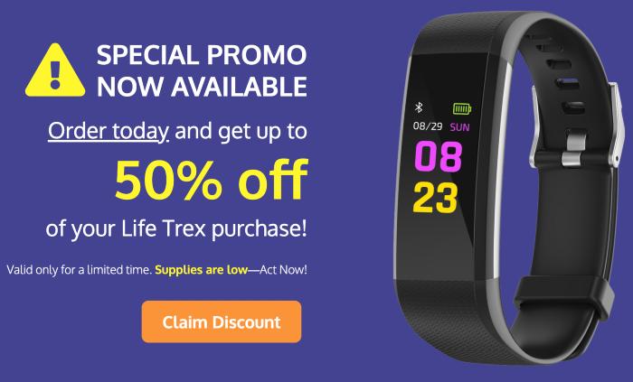 order life trex watch