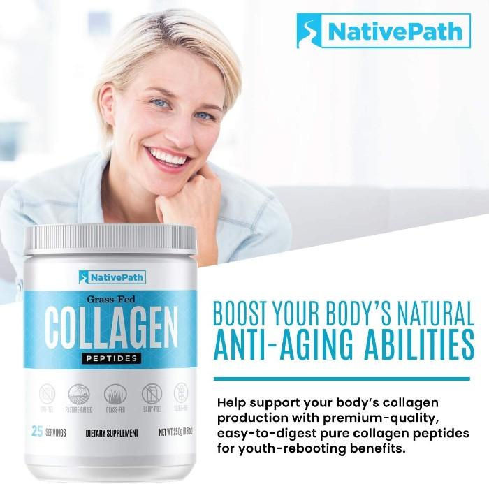 NativePath Grass Fed Collagen